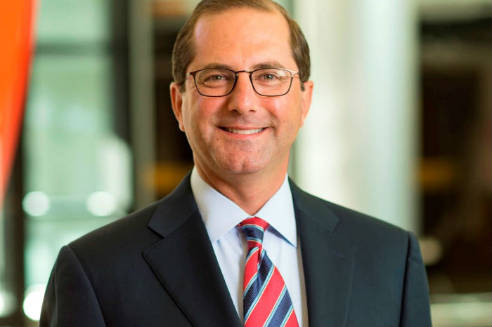 President Trump Names Former Scalia Clerk Alex Azar as New HHS Secretary